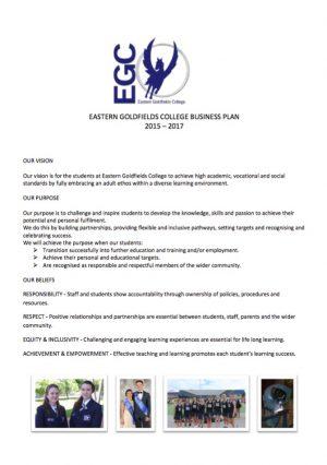 Eastern Goldfields College Website